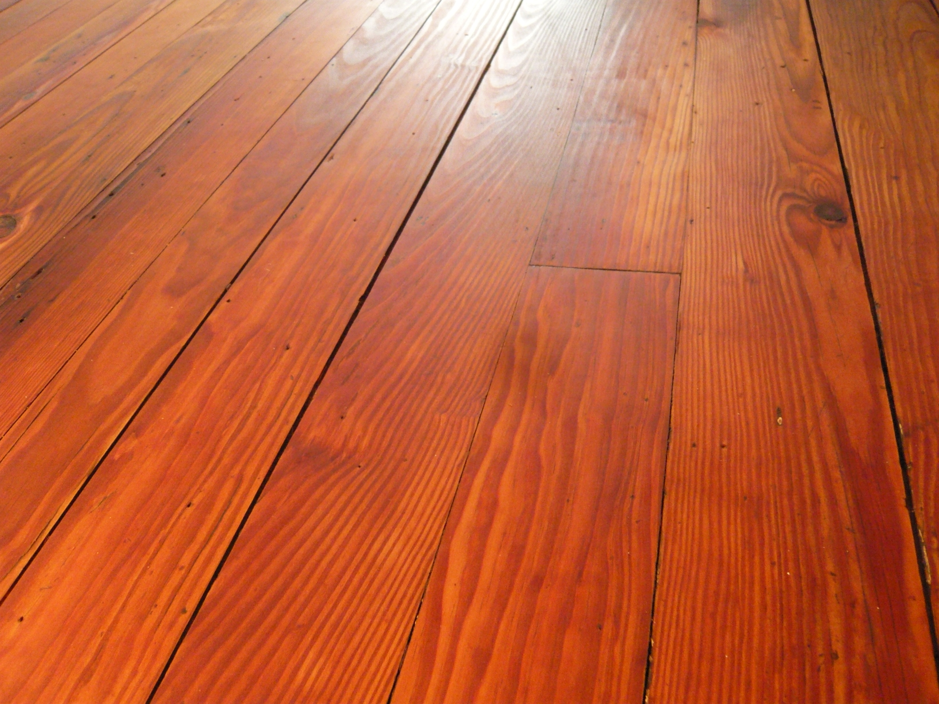 The colors in the wood are just amazing.  They range from bright yellow to dark red.  Very warm!