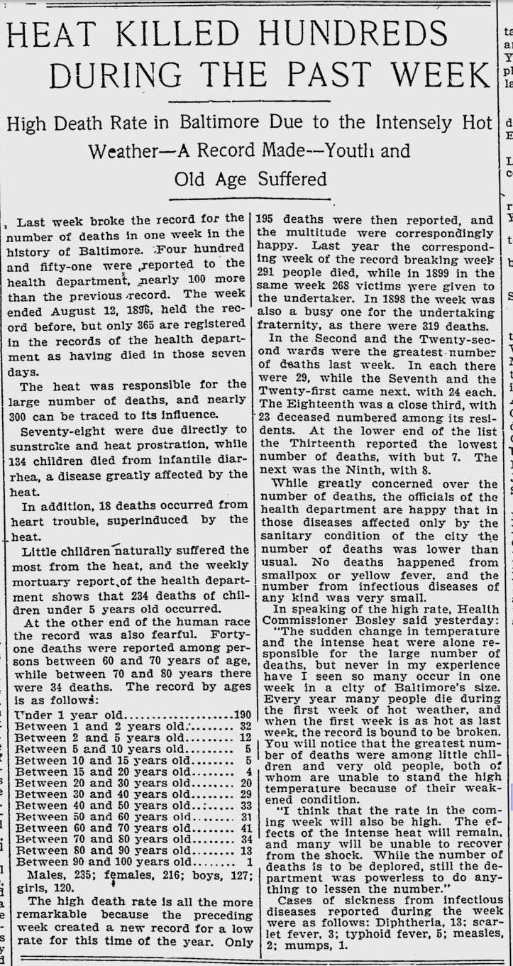 Baltimore Morning Herald - 7 July 1901