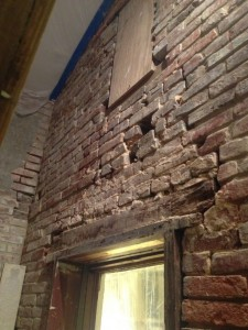 Bricks Falling Out