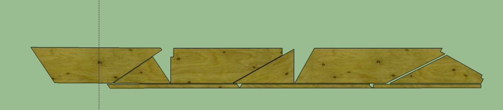 Which helped me to figure out how to use our narrowest boards to make our widest treads most efficiently.